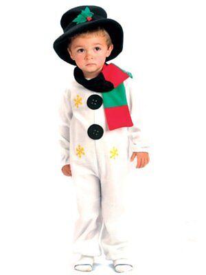 ★ Schneemann Snowman Kinder kostüm Frosty Weihnachten Kinderkostüm 92-122 Schnee ()