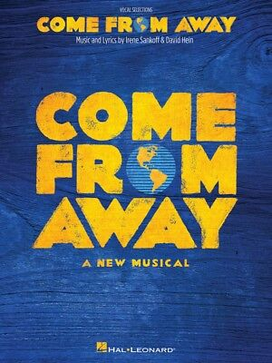 Come from Away Sheet Music A New Musical Vocal Line with Piano Accomp 000250241
