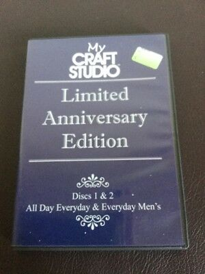 My Craft studios ltd anniversary edition 2 disc cd Rom All Day Everyday & Men's