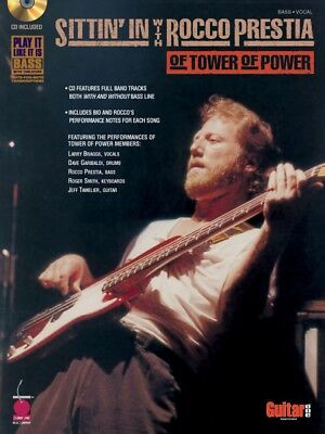 Sittin' In with Rocco Prestia of Tower of Power Sheet Music Bass Book 002500539