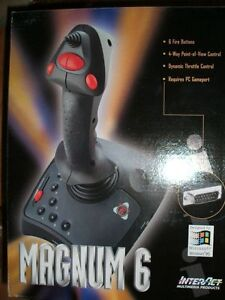 Collector's item - Magnum 6 computer joystick - NEW - never used