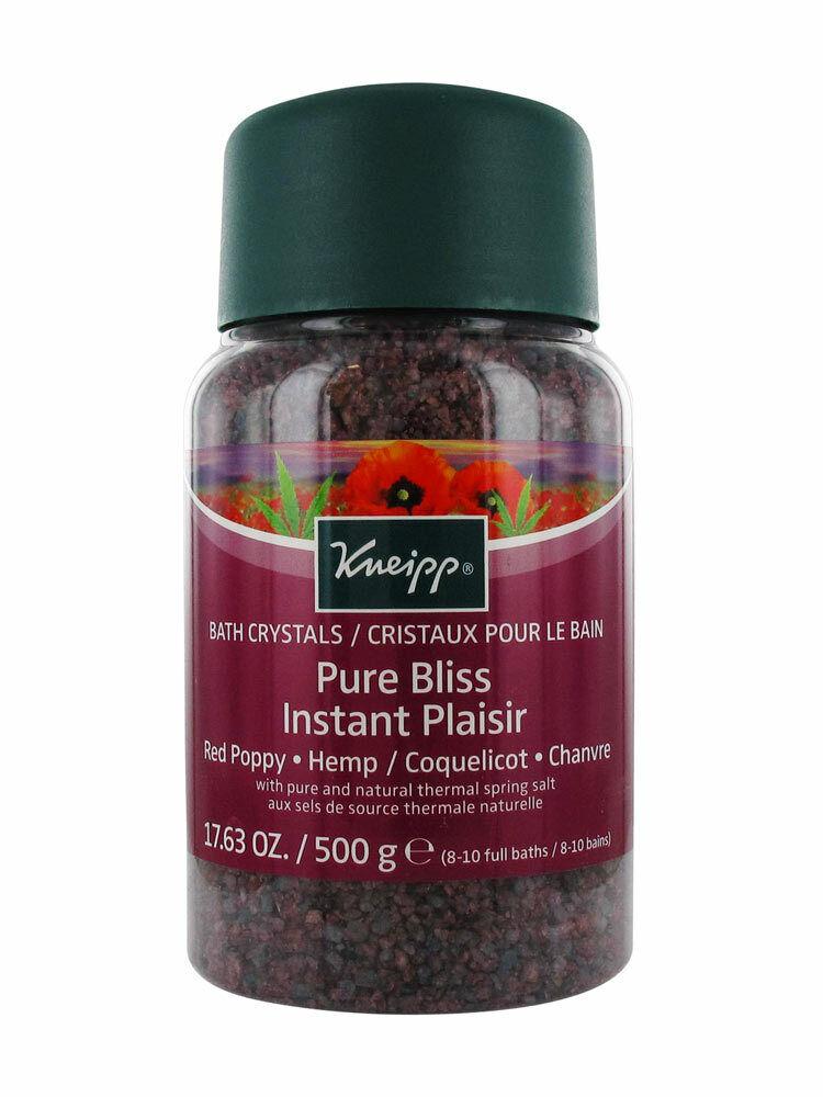 Kneipp Pure Bliss Red Poppy & Hemp Mineral Bath Salt