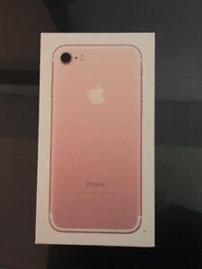 I phone 7 rose gold 32 GB