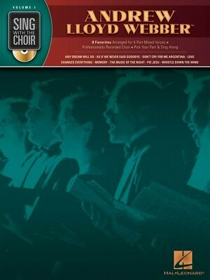 Andrew Lloyd Webber Sing with the Choir Volume 1 Sing with the Choir 000333001