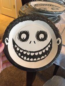 Disney Nightmare Before Christmas 7 & Nightmare Before Christmas Plates | eBay