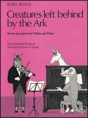 Ark Music Book - Creatures Left Behind by the Ark Violin & Piano ABRSM Sheet Music Book