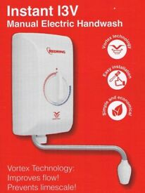 **Brand New** Instant Water Heater Redring 13v