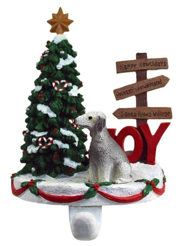 Bedlington Terrier Stocking Holder Hanger