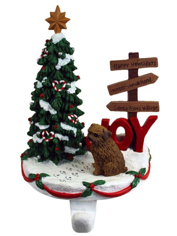 Norfolk Terrier Stocking Holder Hanger