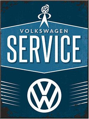 Magnet VW - Service, 6 x 8 cm
