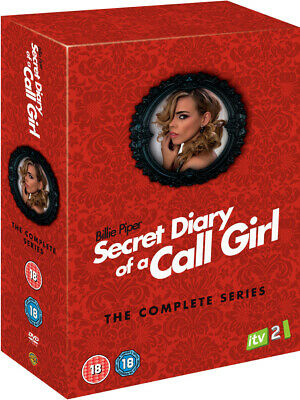 Secret Diary Of A Call Girl Series 1 to 4 Complete Collection DVD