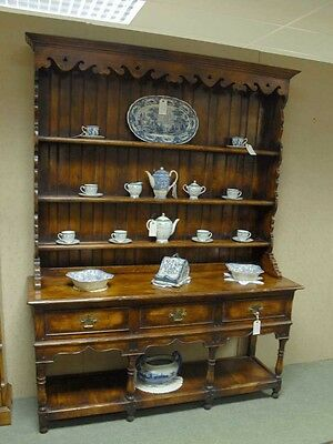 English Farmhouse Kitchen Dresser Oak Furniture | Ebay
