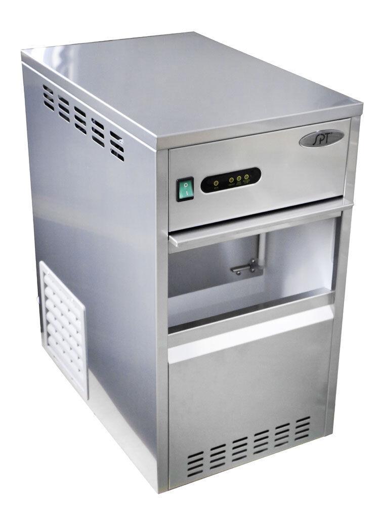 Sunpentown SPT 88 lbs Flaked Shaved Ice Maker/Freezer - SZB-