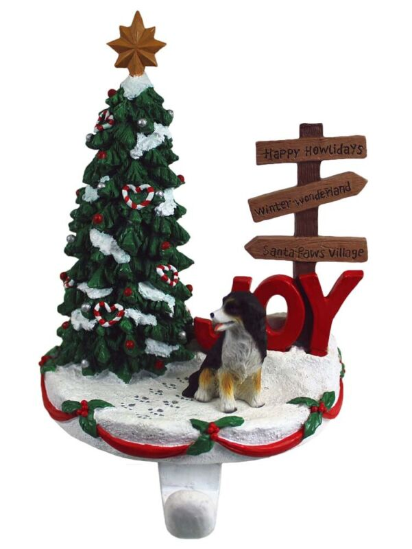 Bernese Mountain Dog Stocking Holder Hanger