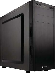 NEW Corsair Carbide Series 100R Mid Tower Case CC-9011075-WW Condtion: New, 100R Silent, Mid-Tower