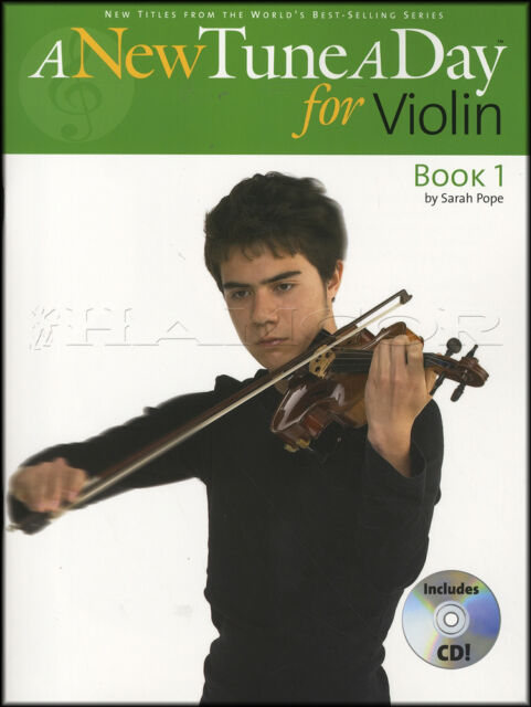 A New Tune A Day for Violin 1 Sheet Music Book with CD Tutor Method