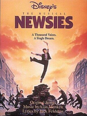 Newsies Sheet Music Piano Vocal Guitar Songbook NEW 000311572
