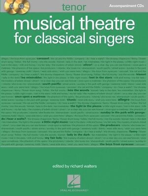 Musical Theatre for Classical Singers Tenor Accompaniment CDs Vocal 000230002