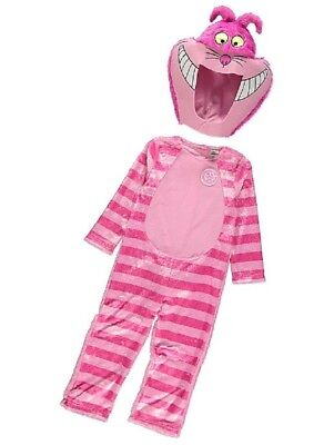George Alice Wonderland Cheshire Cat Fancy Dress Outfit Costume World Book Day - Cheshire Cat Outfits