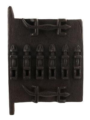 Door Dogon of Attic in Mil Mali 40 x 28 cm Art African 1194 Etag