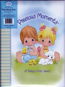 Precious moments babys first years memory book