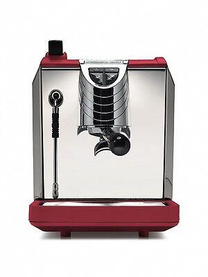 Nuova Simonelli Oscar Ii 2 Espresso Coffee Maker Cappuccino Machine 220v Red