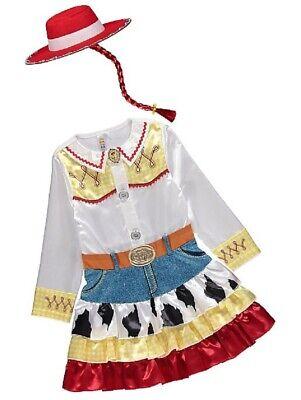George Toy Story 4 Jessie Mädchen Kostüm Outfit Welttag des - Jessie Mädchen Kostüm