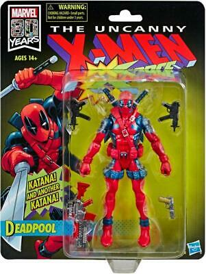 "X-Men X-Force Retro Marvel Legends 6"" Deadpool Action Figure - Exclusive"