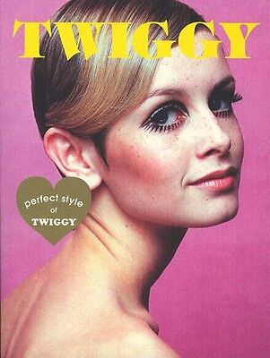 Photo Book Twiggy All about World's model TWIGGY Perfect Style Fashion Snap F/S
