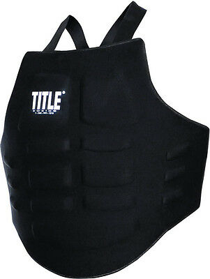 Title Boxing Ultra Light Chest Guard MMA Body Protector Kickboxing Muay Thai