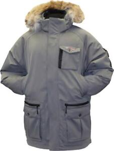 New ROCKWATER SNOW CROSS DOWN FILLED EXTREME COLD WINTER PARKA -- MADE BY A CANADIAN COMPANY FOR COLD CANADIAN WINTERS!!