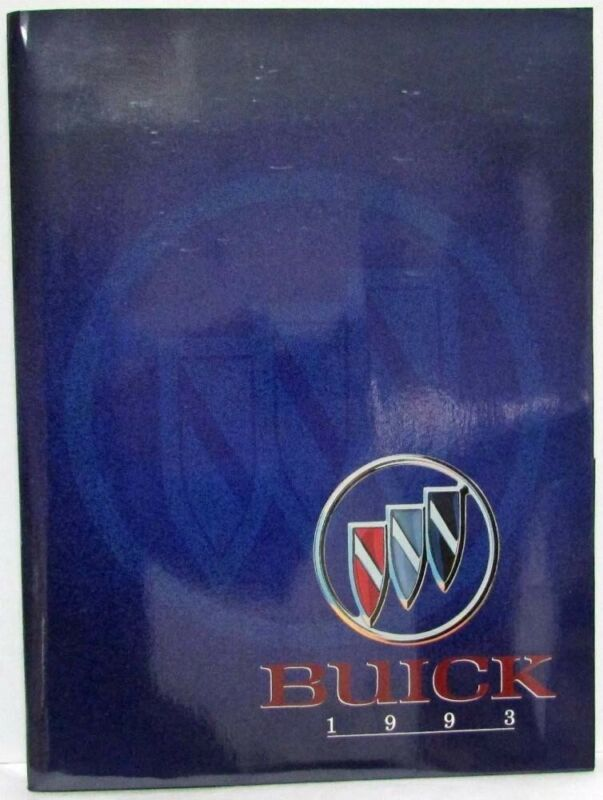 1993 Buick Press Kit - Park Avenue Roadmaster LeSabre Regal Skylark