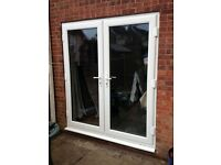 Upvc 6ft white patio doors