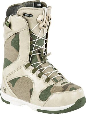 New 2015 Nitro Monarch TLS Snowboard Boots Womens 7 Desert Camo