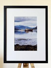 Photographic print - Boats at Ullapool