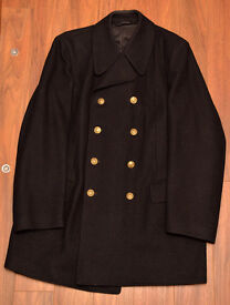 Rare opportunity, original Polish Navy coat (Polish Armed Forces, army, military, maritime)