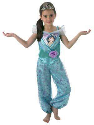 Rub - Disney Prinzessin Kinder Kostüm Jasmin mit (Jasmin Kostüm Disney)