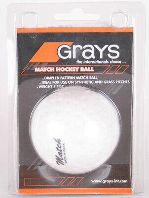 Grays Match Hockey Palla Colore Bianco
