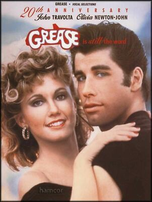 Grease is Still the Word Piano Vocal Guitar Sheet Music Book 20th Anniversary Ed ()