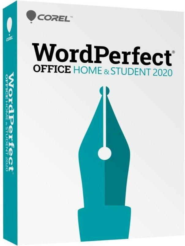 Corel - WordPerfect Home & Student 2020 - Windows