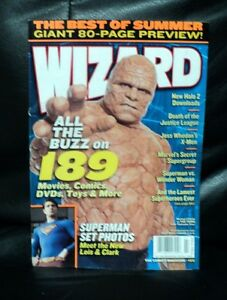 wizard comic magazine