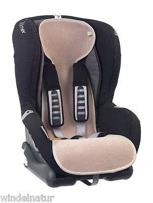 AeroMoov atmungsaktive Autositzeinlage Baumwoll Frottee Einlage Autositz Gr. 1