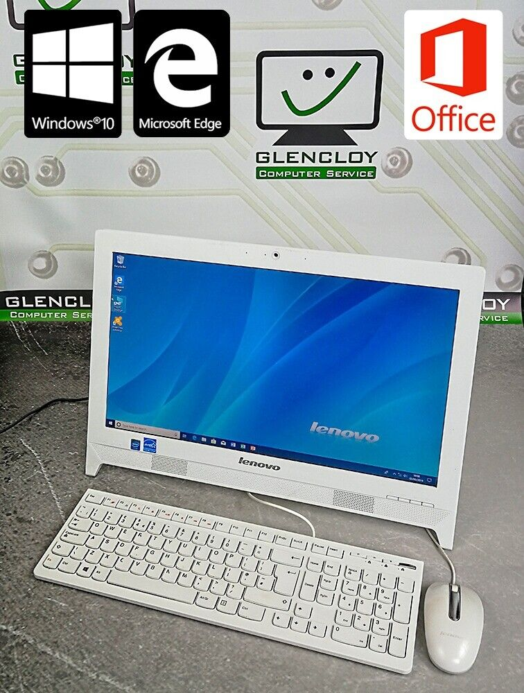 Portable Lenovo C260 all-in-one PC with Ms Office + 6 MONTHS WARRANTY | in  Ballymena, County Antrim | Gumtree