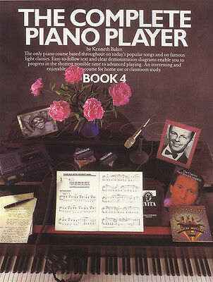 The Complete Piano Player 4 Sheet Music Book Only Learn How To Play Method