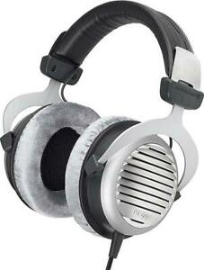 Used Beyerdynamic DT 990 Premium 250 ohm HiFi Headphones Condtion: Used, 250 OHM, Gray, Headband had severe wear