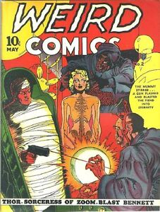 WEIRD COMICS GOLDEN AGE COLLECTION PDF FORMAT ON CD