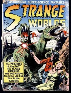 STRANGE WORLDS COMICS GOLDEN AGE COLLECTION PDF ON CD