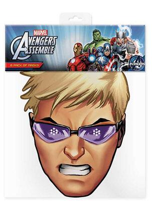 Hawkeye - Marvel Maske - hochwertiger Glanzkarton mit Augenlöchern