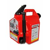 SureCan 2.2-Gallon Red Plastic Gasoline Fuel Can