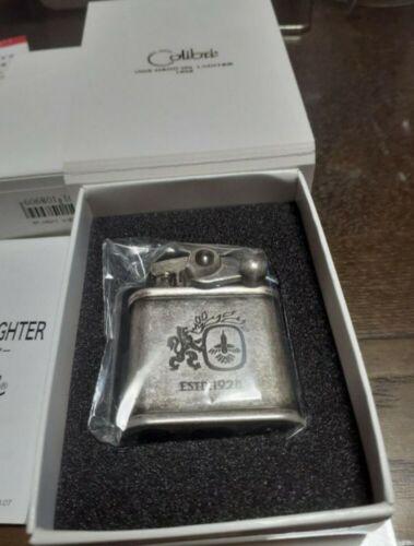 COLIBRI OIL Lighter Flint Barrel Finish 308-0030 Nickel Brass 55g Made in Japan!